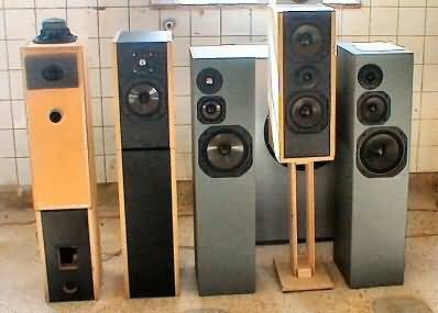 HIFI LOUDSPEAKERS AND KITS from CAD AUDIO DK